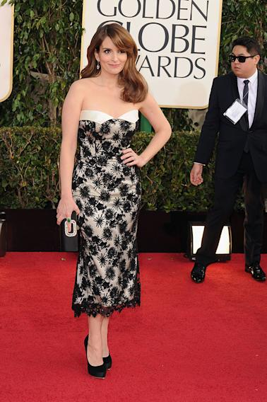 70th Annual Golden Globe Awards - Arrivals: Tina Fey