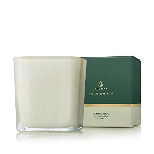 """<p><strong>Thymes</strong></p><p>amazon.com</p><p><strong>$32.00</strong></p><p><a href=""""https://www.amazon.com/dp/B07Q1K6RL3?tag=syn-yahoo-20&ascsubtag=%5Bartid%7C10050.g.34055055%5Bsrc%7Cyahoo-us"""" target=""""_blank"""">Shop Now</a></p><p>It's like a Christmas tree in glass! This outdoorsy scent will make you daydream about finding the perfect tree. It's also a pretty hostess gift.</p>"""