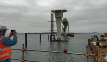 【有影】海底花崗岩盤堅硬無比 金門大橋工程屢遇艱難進度曝光