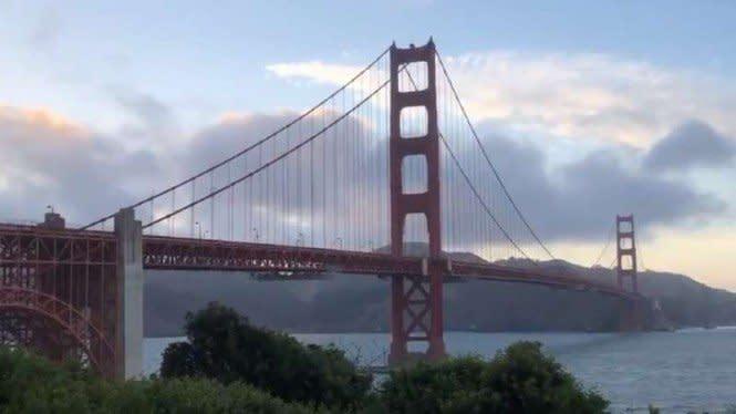 Suara Misterius di Golden Gate Bikin Heboh Warga San Francisco
