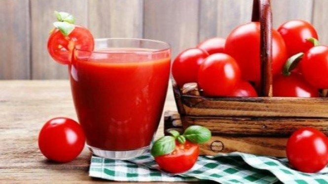 Rutin Minum Jus Tomat, Begini yang Akan Terjadi pada Tubuh