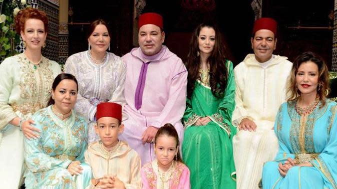 Anggota keluarga kerajaan Maroko. (Dokumentasi Kementerian Kebudayaan & Komunikasi Kerajaan Maroko)