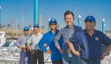 竹市漁民與潛水客組海洋巡守隊 林智堅感謝 (圖)