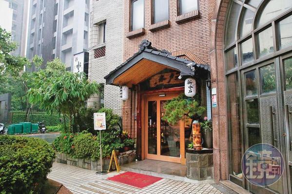 蘇震清在知名的水戶日式料理餐廳(圖)向李恆隆索賄,過程全被檢調監控。