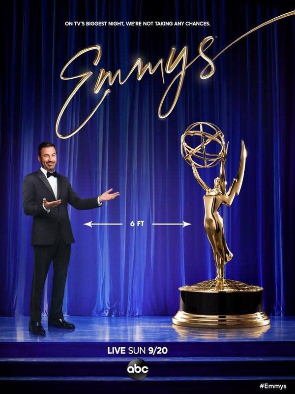 Ini adalah nama-nama yang keluar sebagai pemenang di ajang Emmy Awards 2020 (Instagram/televisionacad)