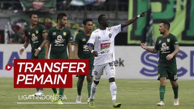 VIDEO: Makan Konate ke Persebaya, Berikut Update Transfer Pemain Liga 1 Pekan Ini