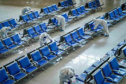 Wuhan in China was the original epicentre of the new coronavirus outbreak. The pandemic has now claimed more than 557,000 lives around the world. Photo: Reuters