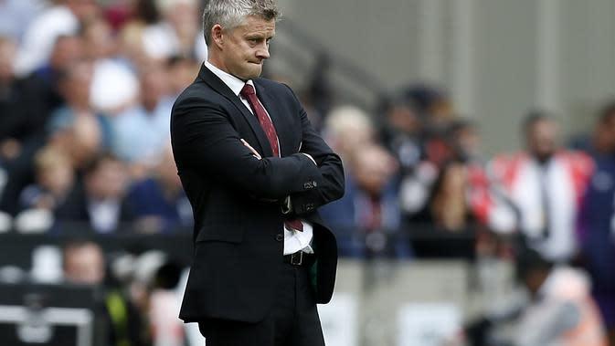 Manager Manchester United (MU) Ole Gunnar Solskjaer. (AFP/Ian Kington)