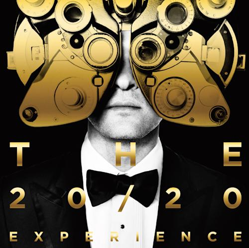 """This CD cover image released by RCA Records shows """"The 20/20 Experience"""" by Justin Timberlake. Timberlake's comeback album, """"The 20/20 Experience,"""" is 2013's best-selling album on the U.S. iTunes Store. (AP Photo/RCA)"""