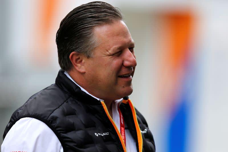 McLaren boss Brown warns F1 must change to survive