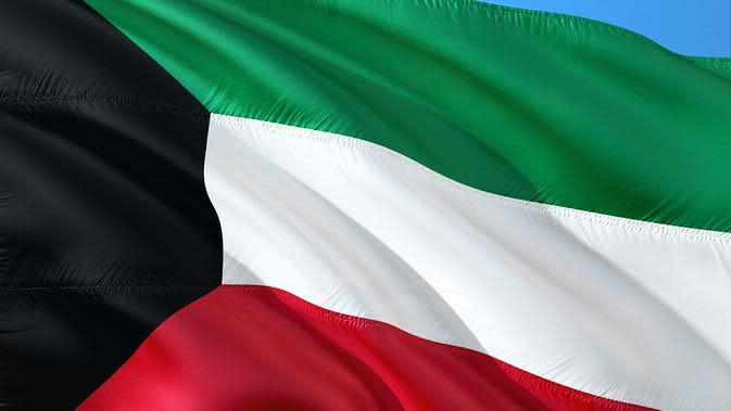 Ilustrasi Bendera Kuwait (Pixabay)