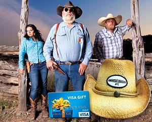 Yahoo! TV Giveaway: 'American Hoggers' Cowboy Hat and $50 Visa Gift Card