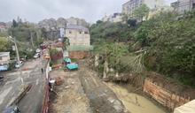 嚇! 社區旁邊坡坍塌爆巨響 急疏散98住戶