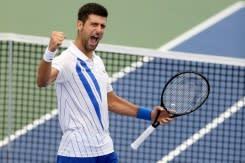 Djokovic beraksi pada hari pertama di gelembung US Open
