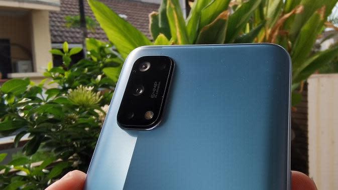 Kamera belakang Realme 7 Pro (Liputan6.com/Agustinus M. Damar)