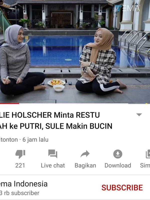 Unggahan Tema Indonesia. (Foto: YouTube Tema Indonesia)