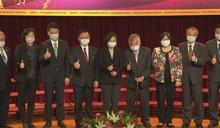 廣播節活動在中廣 蔡總統與趙少康同台