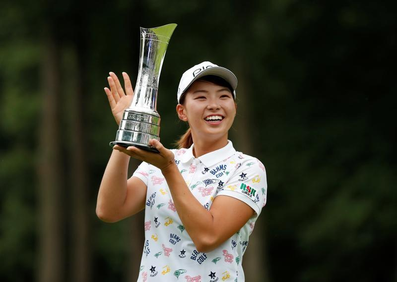 Reigning champion Shibuno set to miss cut at women's Open