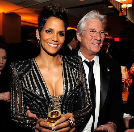 2013 Vanity Fair Oscar Party Hosted By Graydon Carter - Inside: Halle Berry and Richard Gere