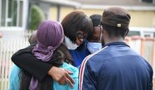洛杉磯民眾上街示威 抗議非裔男基茲命喪警察槍下