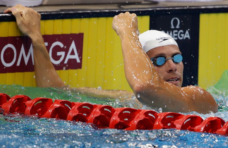 South Africa's 2004 Olympic champion Schoeman gets one-year doping ban