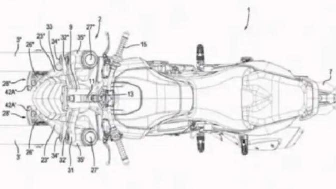 Bocoran Motor Roda Tiga Aprilia