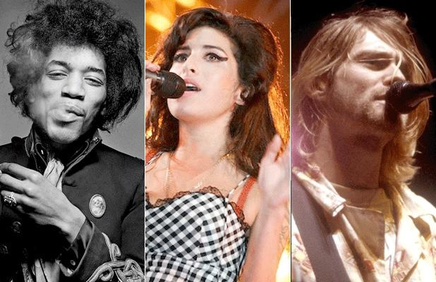 27 Club: Stars Who Died at Age 27, From Jimi Hendrix to Kurt Cobain (Photos)