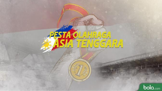Logo Sea Games 2019 (Bola.com/Adreanus Titus)