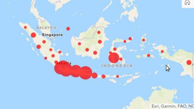 45 Daerah Masih Berstatus Zona Merah COVID-19 Saat Gelar Pilkada