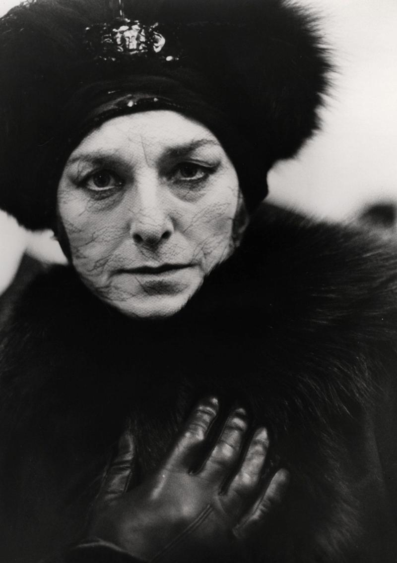 Haunting: Barbara Jefford in Fellini's And The Ship Sails On, 1983 - Shutterstock