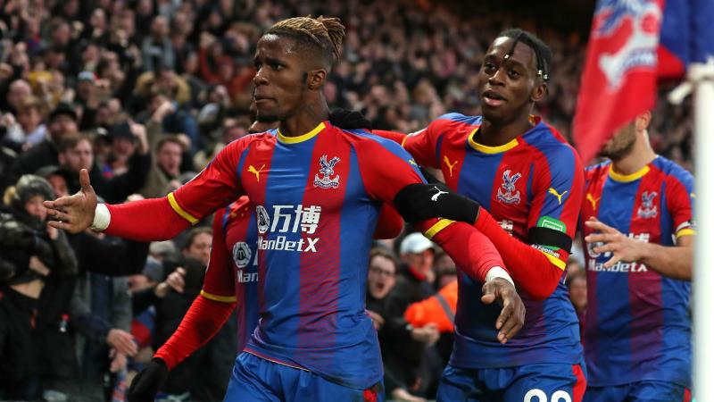 Arsenal coach Emery hails Zaha and Wan-Bissaka at Crystal Palace