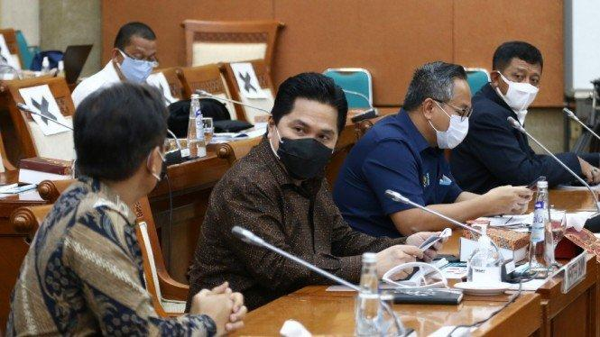 Rancang Klasterisasi BUMN, Erick Thohir Pastikan Ajak DPR Diskusi