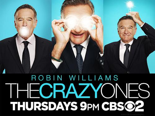 CBS New Series Key Art Features Robin Williams, Anna Faris, Will Arnett