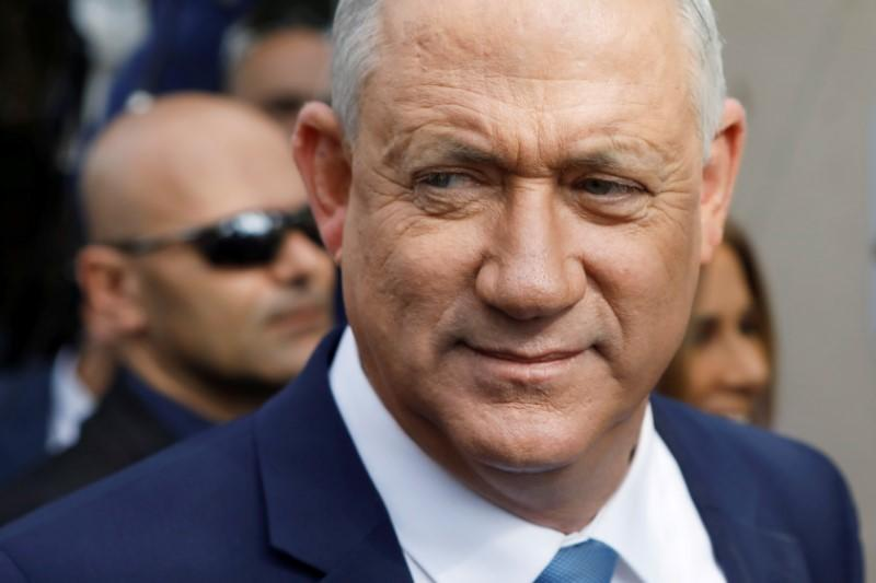 Israel's Gantz angers supporters with move towards unity government