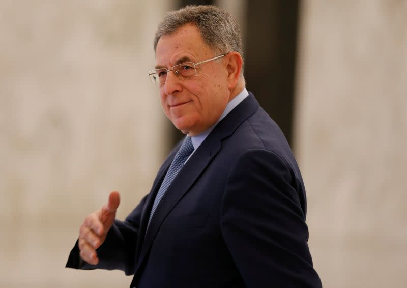 Lebanon to convene talks on new PM on Monday, Khatib seen as frontrunner