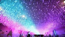 新北歡樂耶誕城四大燈區!48燈景8條燈海隧道拍爆