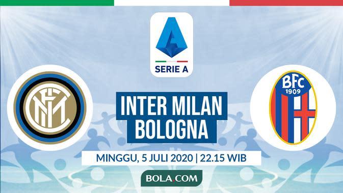 Serie A: Inter Milan vs Bologna. (Bola.com/Dody Iryawan)