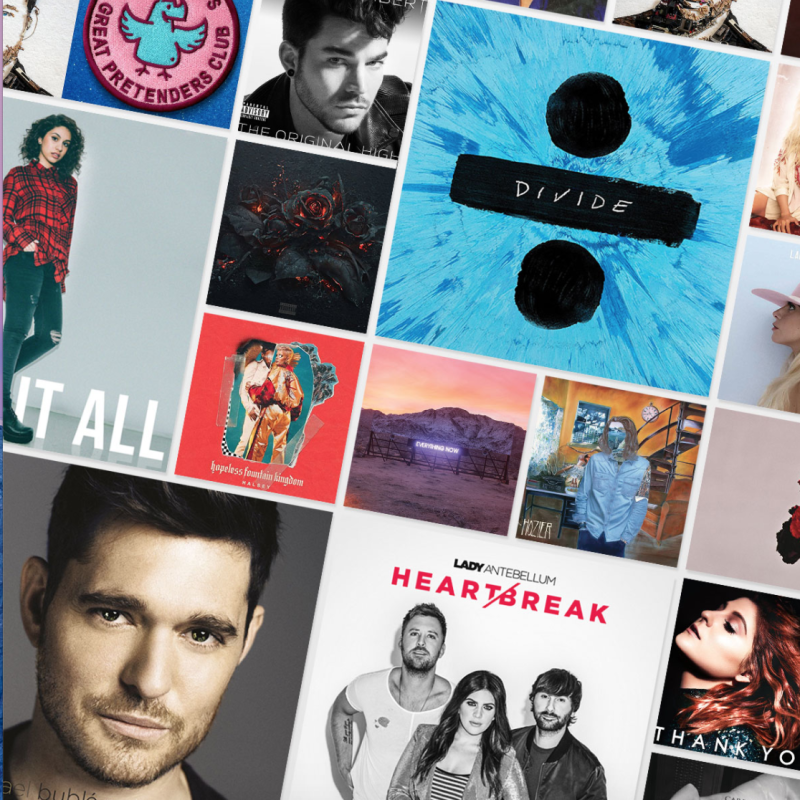 Amazon Music offers access to hours ad-free listening. Image via Amazon.