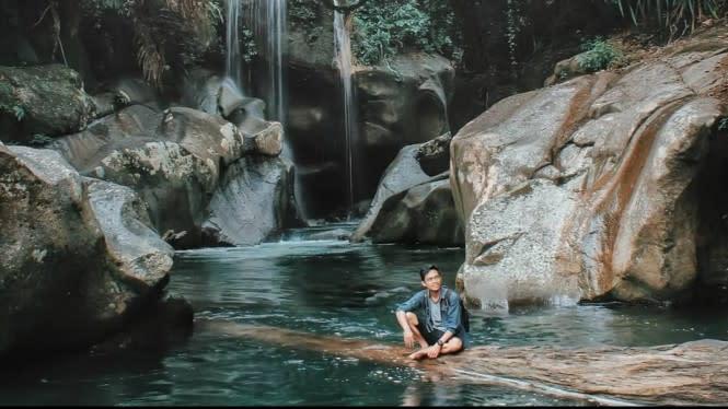 Air Terjun Nyarai, Tempat Asyik Menenangkan Diri di Padang