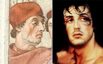 'Sylvester Stallone' spotted in 16th century painting