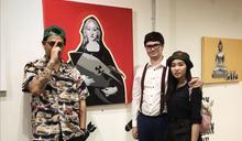 泰國蒙面藝術家諷喻政治走紅 恐遭政府監視跟蹤