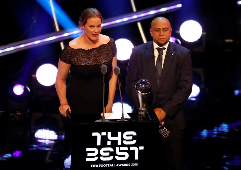 FILE PHOTO:  The Best FIFA Football Awards