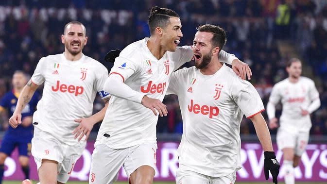 Juventus juga akan bermain di Coppa Italia (AP/Alfredo Falcone)