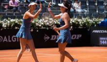 網球》法網前最後一站熱身賽 詹家姐妹逆轉晉8強
