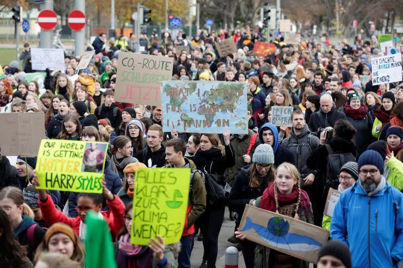 Global Climate Strike of the Fridays for Future movement in Vienna