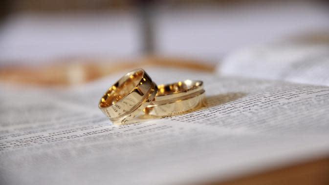 Ilustrasi pernikahan. (Photo on Pixabay)