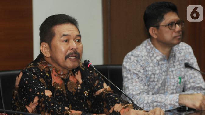 Jaksa Agung Terima SPDP Kebakaran Gedung Kejagung dari Polri