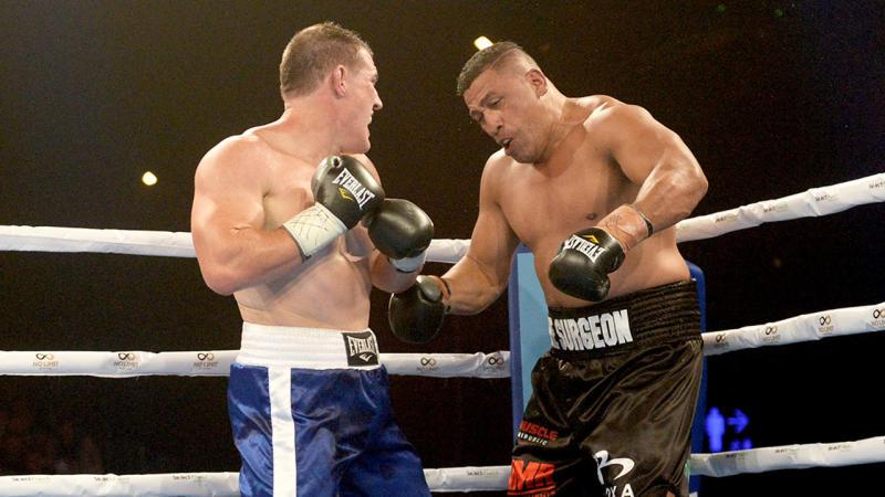 Gallen beat John Hopoate comfortably in his last fight.