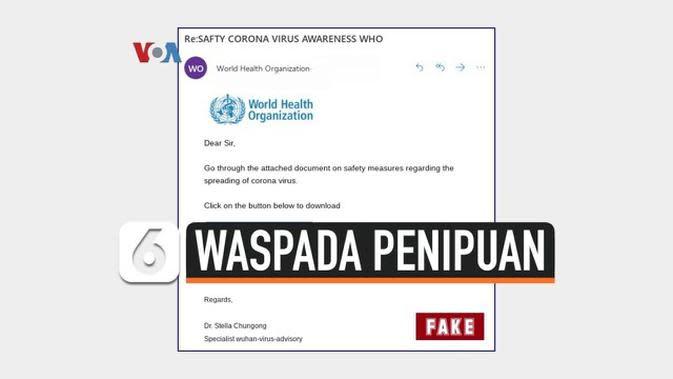 Video Waspada Penipuan Berkedok Amal Corona