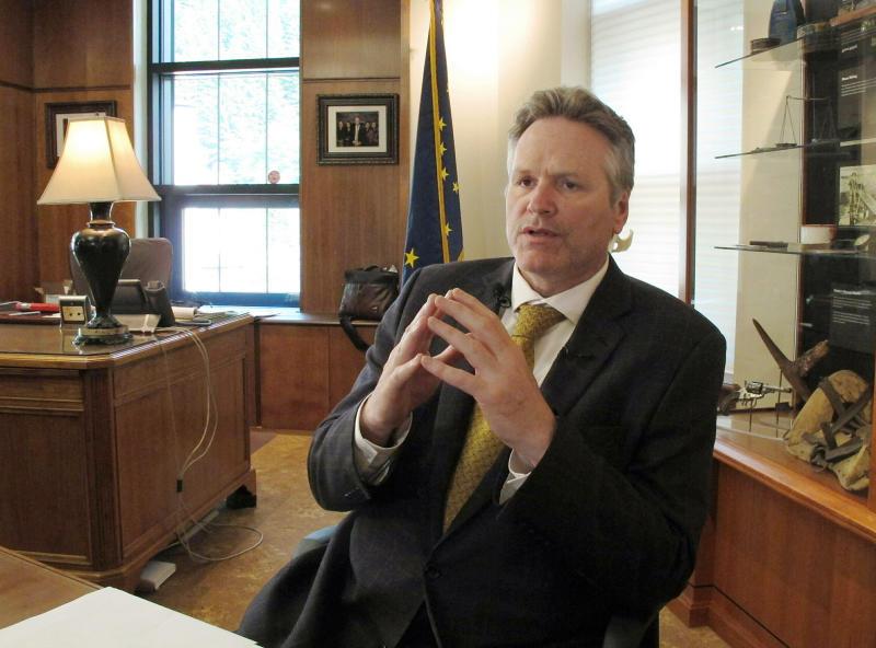 Alaska Governor First Year